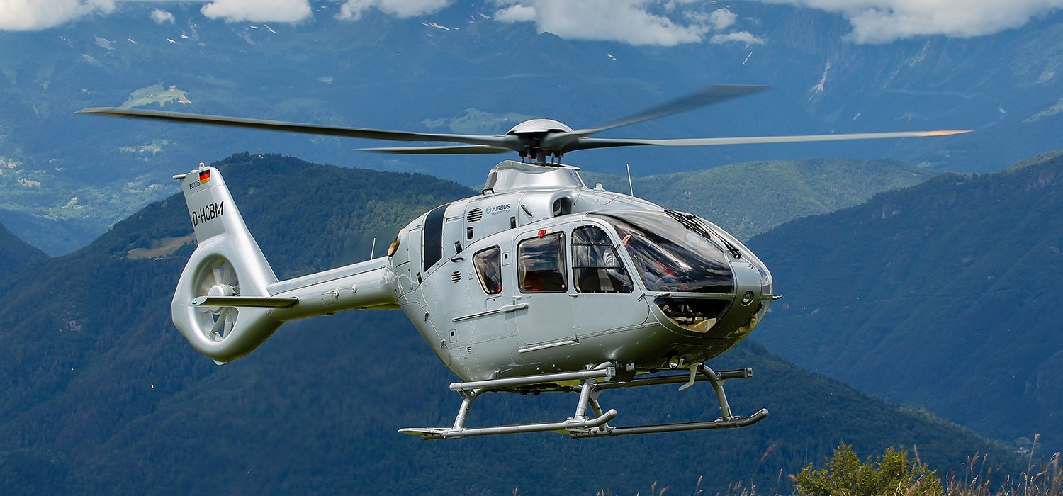Image result for Airbus H135 helicopter